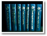 Picture of all seven volumes of the 'Poets of the Prnces' series